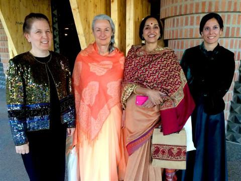 Organist, Swamini and Nanditha
